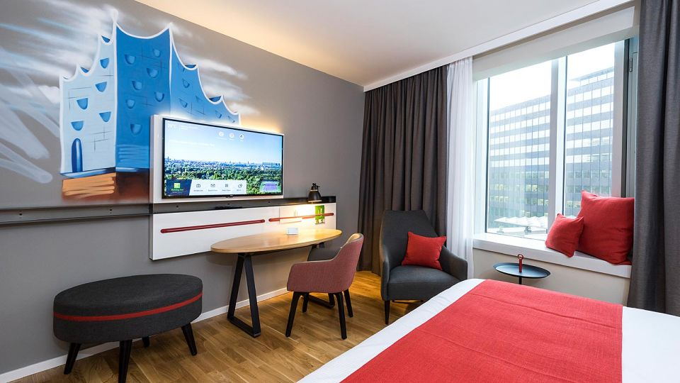 Einzelzimmer im Holiday Inn Hamburg City Nord