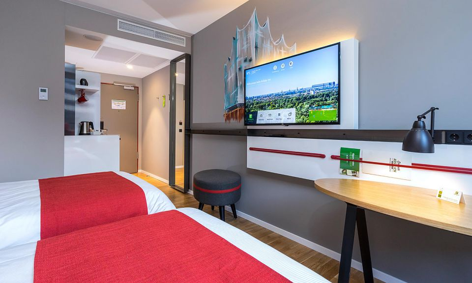 Familienzimmer für 4 Personen im Holiday Inn Hamburg - City Nord