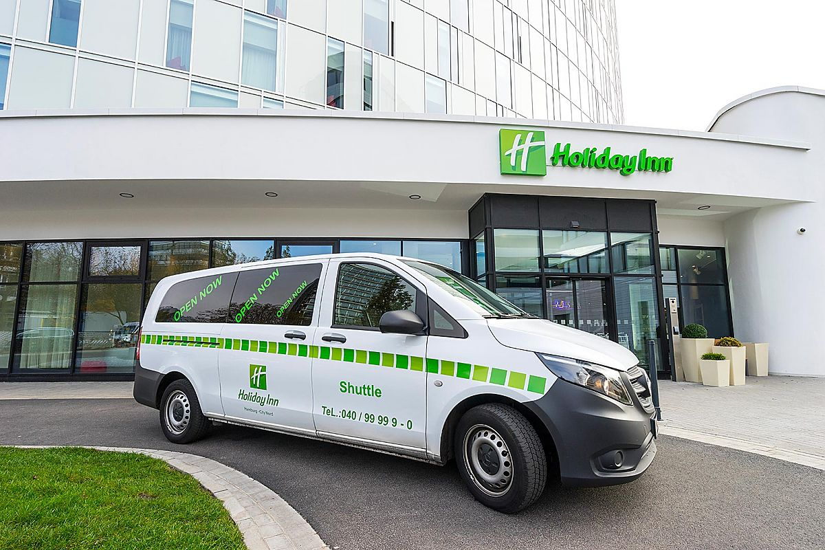 Der kostenlose Shuttle-Service des Holiday Inn Hamburg - City Nord