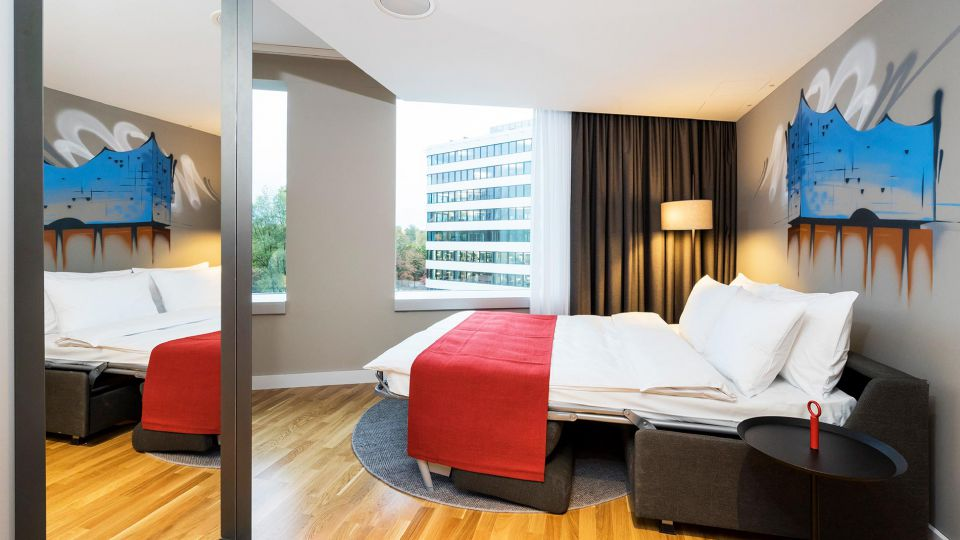 Executive family room for up to 4 persons at Holiday Inn Hamburg - City Nord